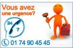 Sos urgence plombier CHAMBOURCY - 78